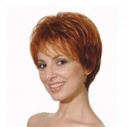Liz peluca de fibra sintética