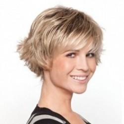 Date peluca fibra sintética