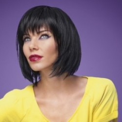 Change peluca fibra sintética.